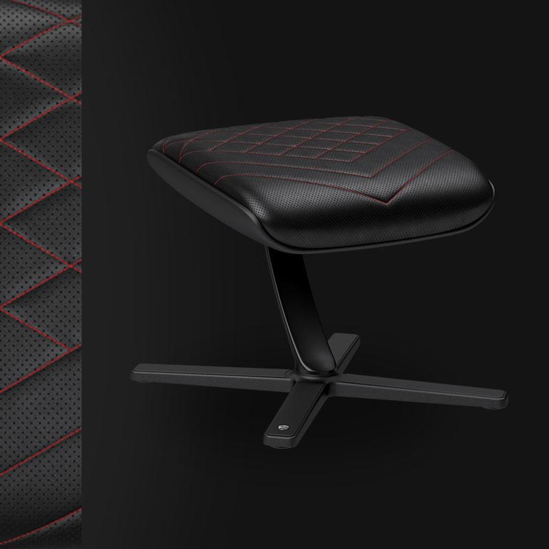 Footrest - Black/Red