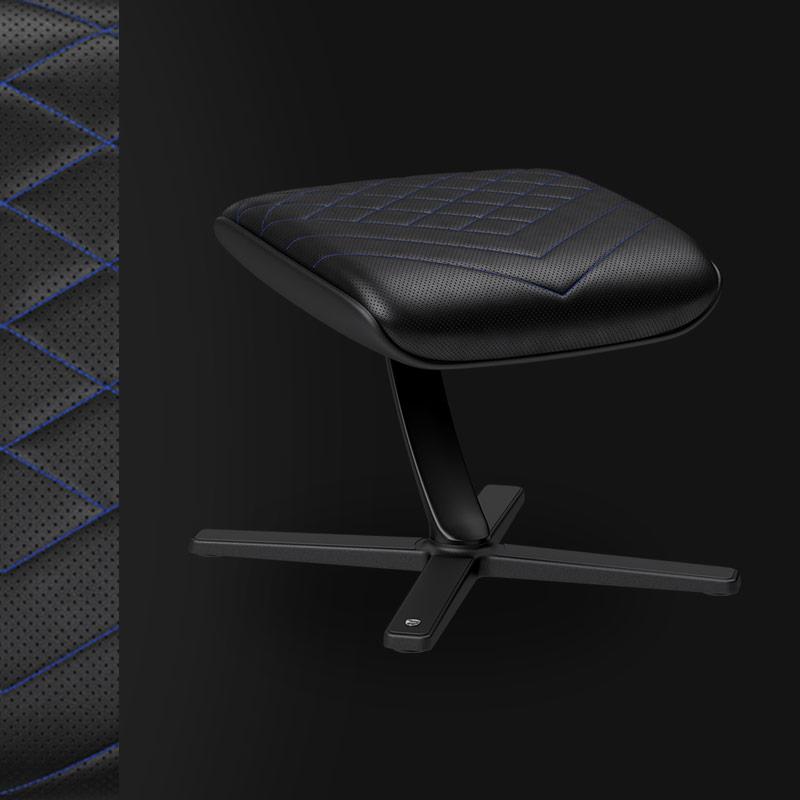 Footrest - Black/Blue