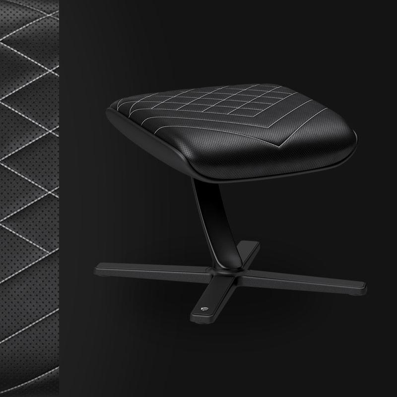 Footrest - Black/Platinum White