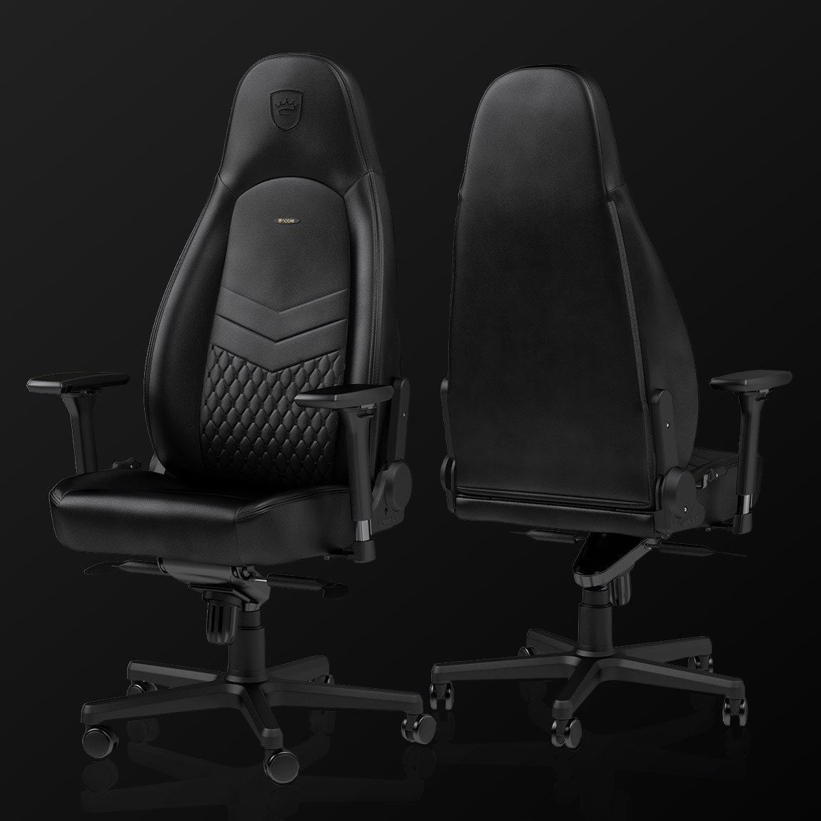ICON Real Leather Gaming Chair